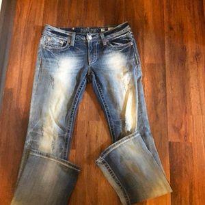 Ladies Miss Me jeans 29x33
